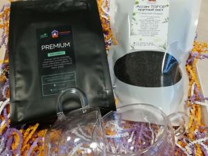 Чайно-кофейный подарочный набор