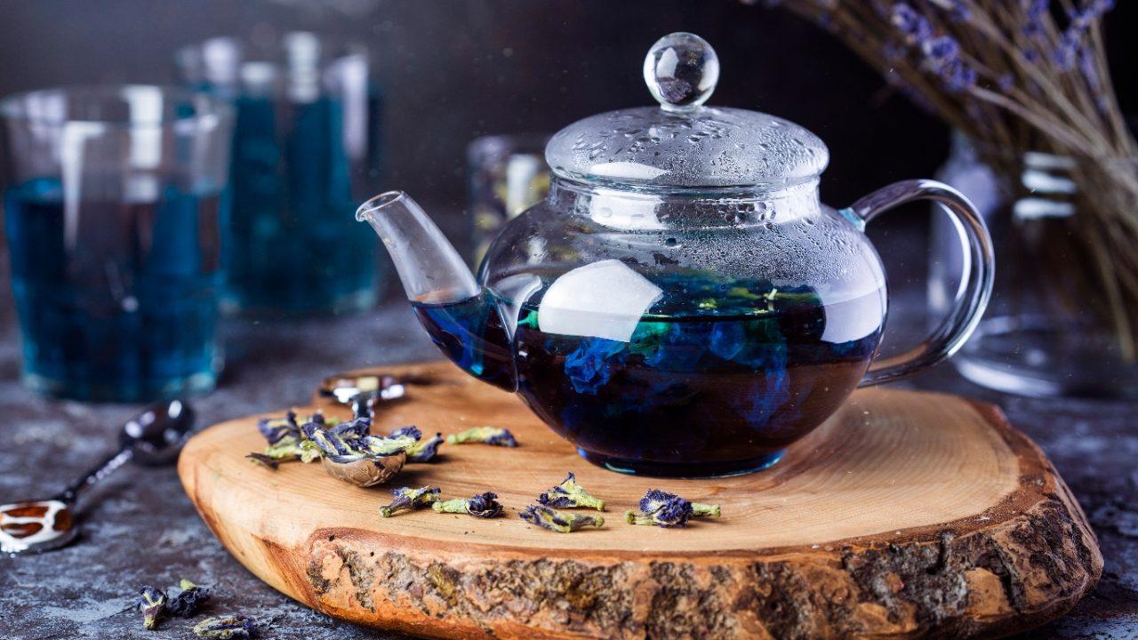 синий чай анчан чем полезен